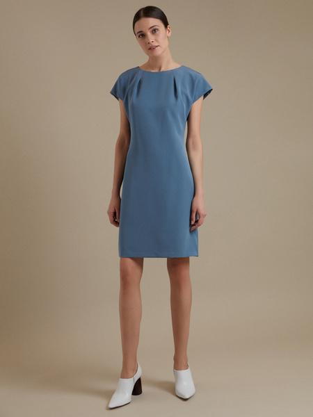 Приталенное платье-мини - фото 3