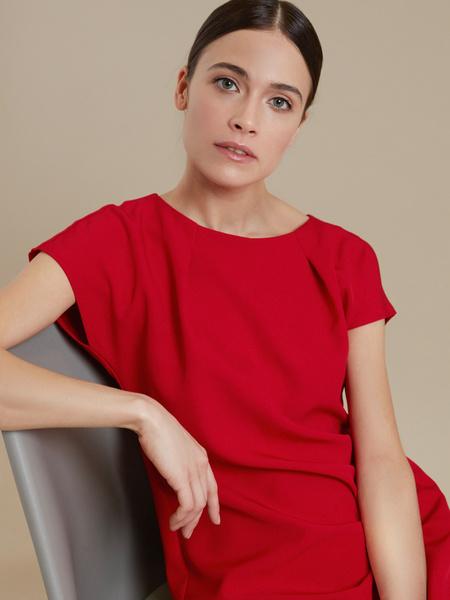 Приталенное платье-мини - фото 2