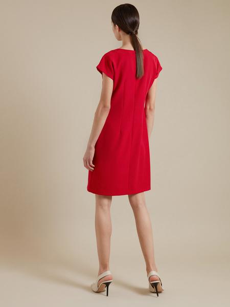 Приталенное платье-мини - фото 5