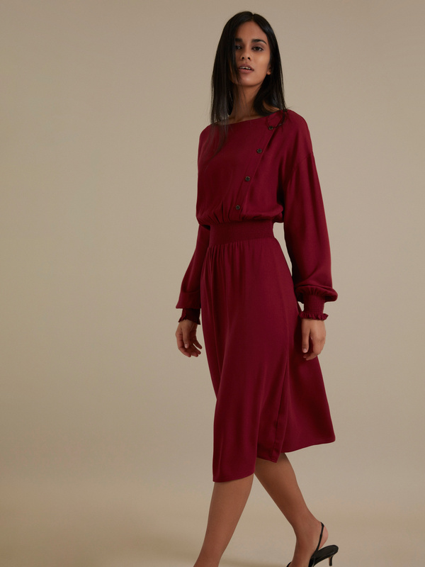 Платье-миди 100% вискоза - фото 1