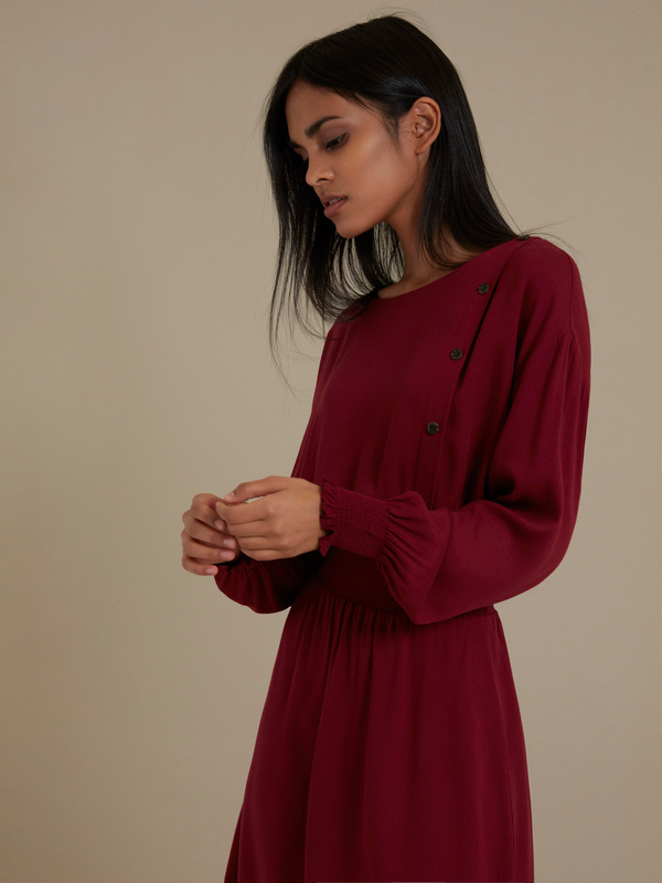 Платье-миди 100% вискоза - фото 3