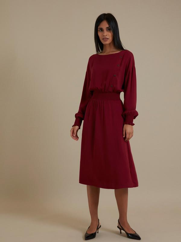 Платье-миди 100% вискоза - фото 4