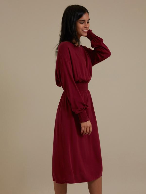 Платье-миди 100% вискоза - фото 5
