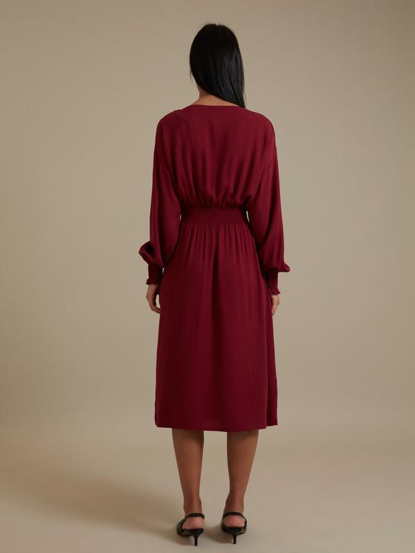Платье-миди 100% вискоза - фото 6