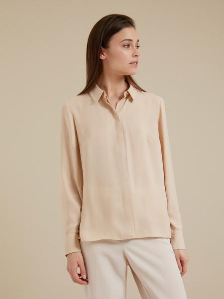 Блузка с ассиметричным низом - фото 1