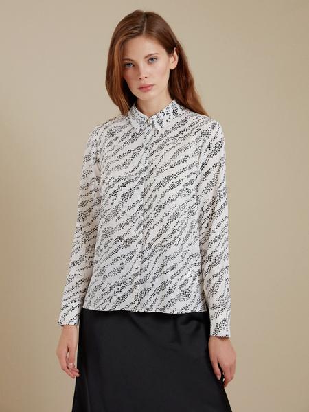 Блузка с ассиметричным низом - фото 2