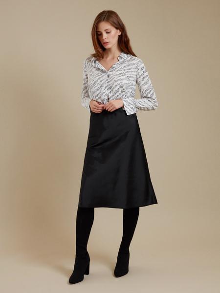Блузка с ассиметричным низом - фото 6