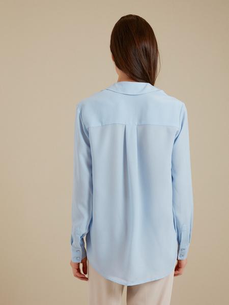 Блузка с ассиметричным низом - фото 4