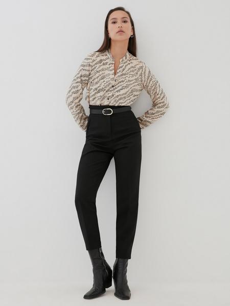 Блуза с V-образным вырезом 100% вискоза - фото 6