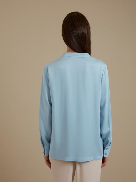 Блуза с V-образным вырезом 100% вискоза - фото 4