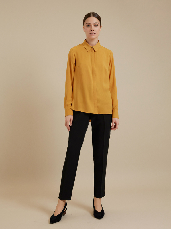 Блузка с ассиметричным низом - фото 5
