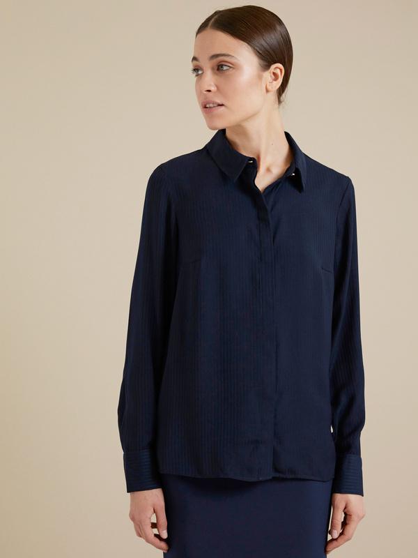 Блузка с ассиметричным низом