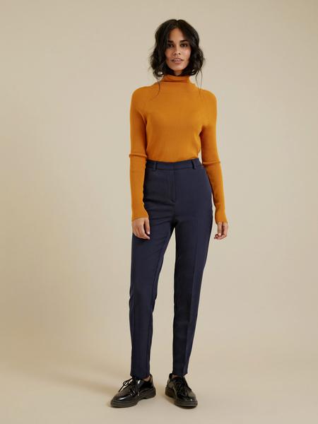 Зауженные брюки со стрелками - фото 1