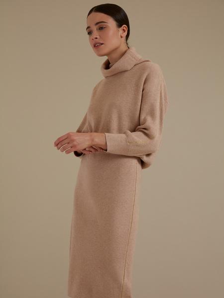 Трикотажная юбка-миди - фото 4