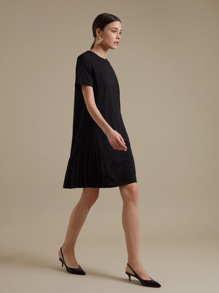 Платье-миди с плиссировкой - фото 4