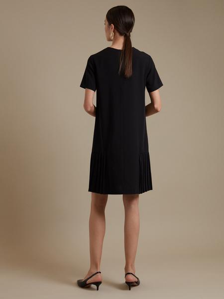 Платье-миди с плиссировкой - фото 5