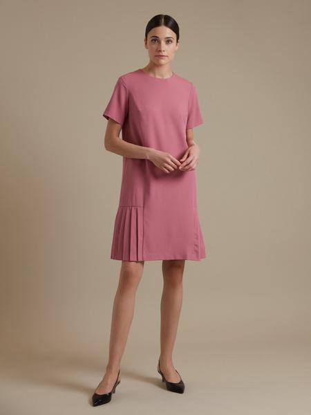 Платье-миди с плиссировкой - фото 3