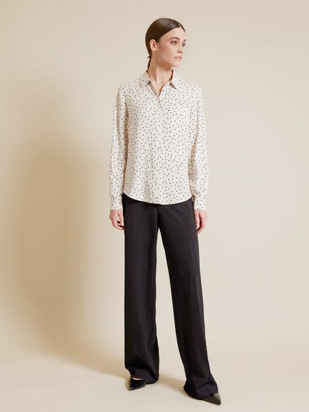 Блузка с накладным карманом - фото 5