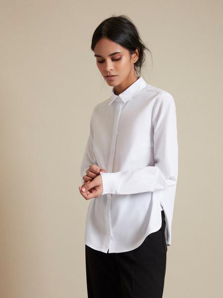 Блузка с асимметричным низом - фото 4