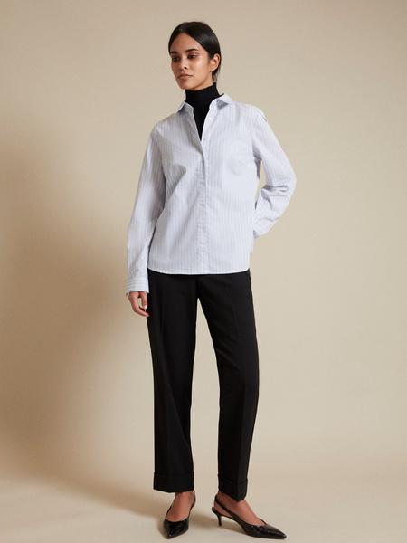Блузка с асимметричным низом - фото 5