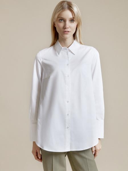 Рубашка оверсайз 100% хлопок - фото 1