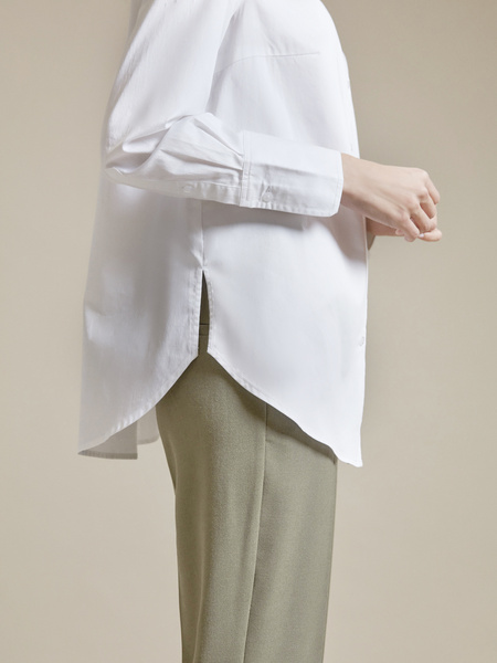 Рубашка оверсайз 100% хлопок - фото 2