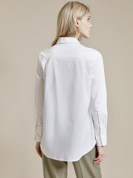 Рубашка оверсайз 100% хлопок - фото 3
