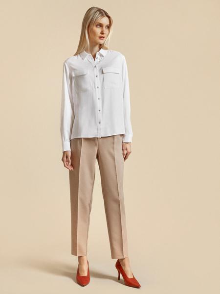Блузка с накладными карманами 100% вискоза - фото 5
