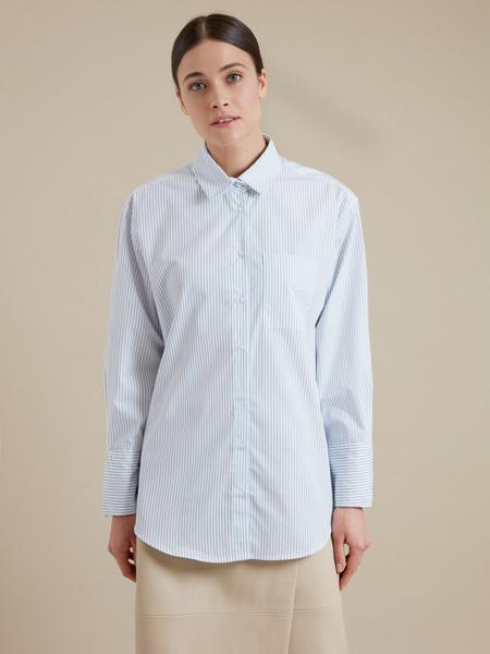 Удлиненная рубашка оверсайз - фото 2