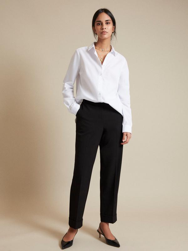 Блузка с асимметричным низом - фото 6