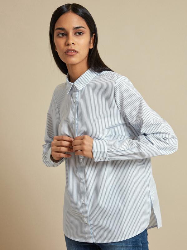 Блузка с асимметричным низом - фото 2