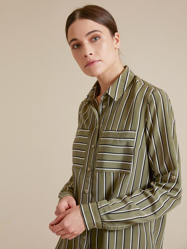 Блузка с рукавами трансформер - фото 1