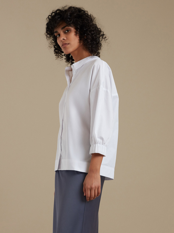 Блузка с рукавами 3/4 - фото 2