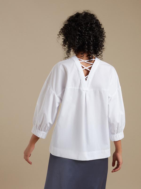 Блузка с рукавами 3/4 - фото 3