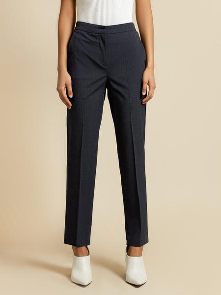 Прямые брюки с разрезами - фото 1