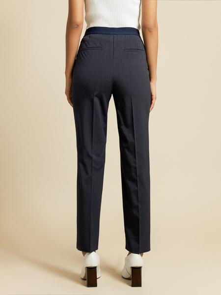 Прямые брюки с разрезами - фото 4