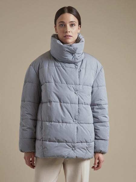 Стеганая куртка оверсайз  - фото 3
