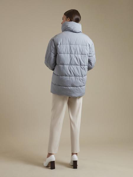 Стеганая куртка оверсайз  - фото 4
