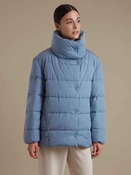 Стеганая куртка оверсайз  - фото 1