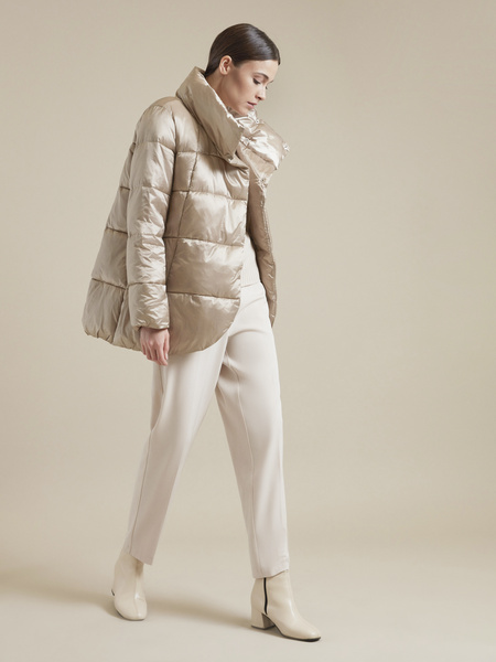 Куртка с асимметричным краем - фото 4