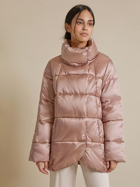 Куртка с асимметричным краем - фото 1