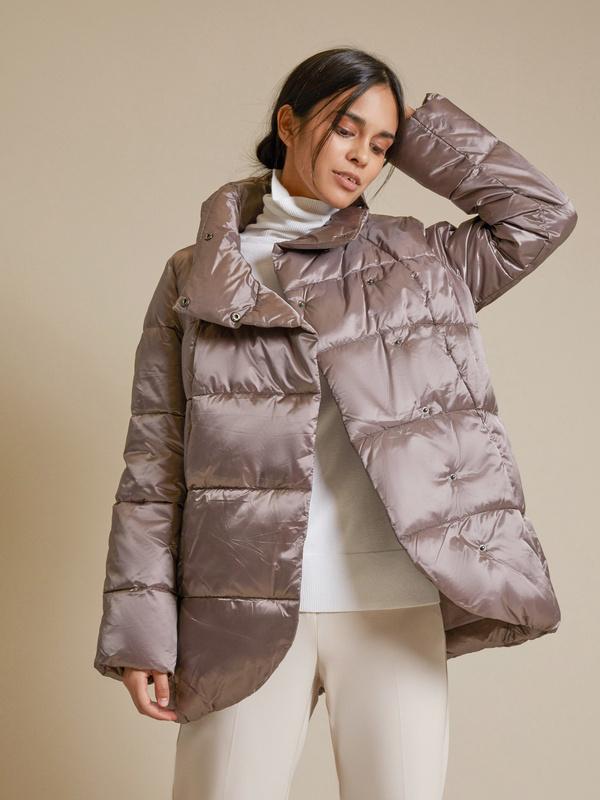 Куртка с асимметричным краем - фото 2