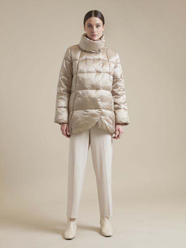 Куртка с асимметричным краем - фото 5