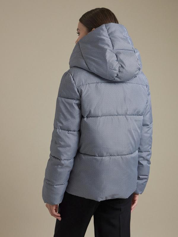Куртка с принтом гусиная лапка - фото 3