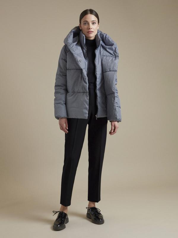 Куртка с принтом гусиная лапка - фото 4