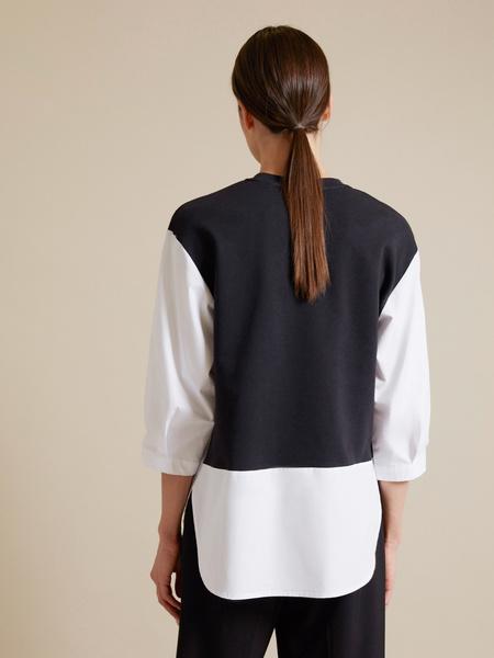 Комбинированная блузка - фото 5