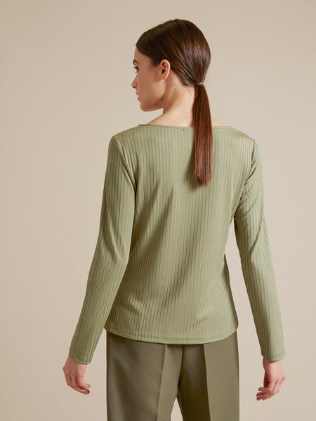 Блузка в рубчик - фото 4