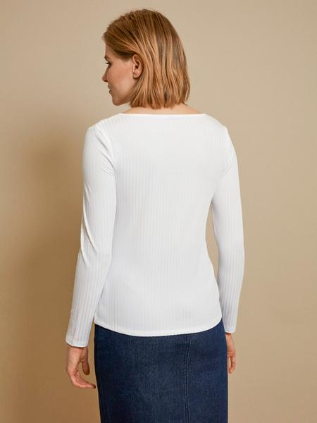 Блузка в рубчик - фото 3