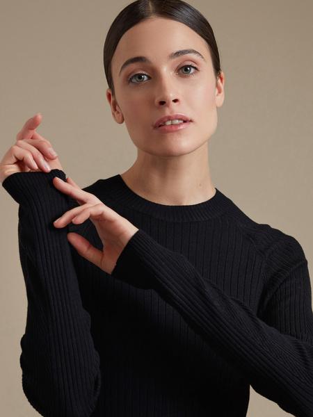 Джемпер с рукавами реглан - фото 2