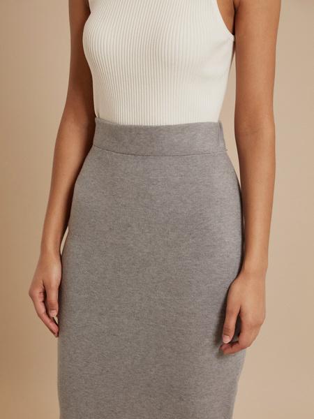 Облегающая трикотажная юбка  - фото 3
